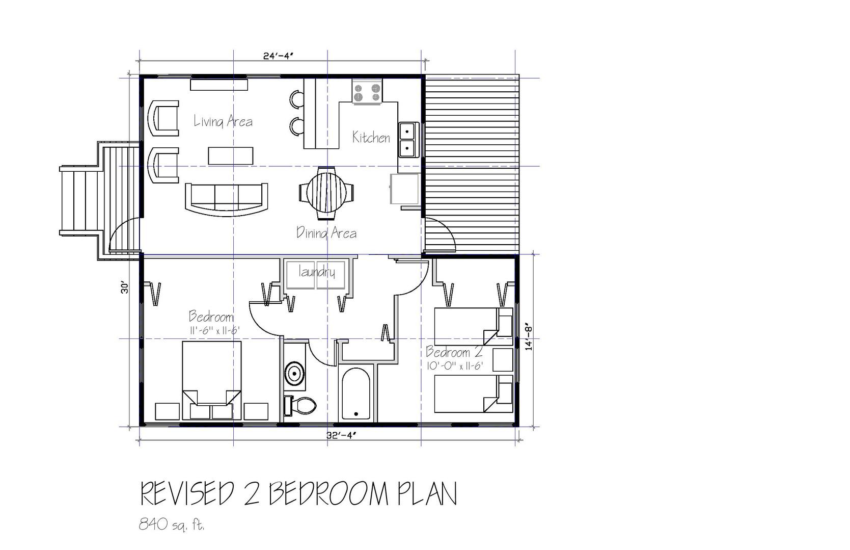 RESTORATION 2 Bedroom Plan (Revised)-pag