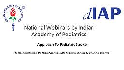 Approach to Pediatric Stroke