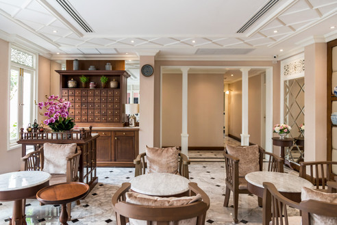 Hiranyakul house Tea room