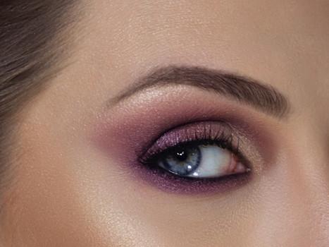 Se joga nas makes com sombra lilás, violeta e lavanda!