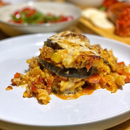 Moroccan Beef & Eggplant Pasta Bake (Gluten & Dairy Free)