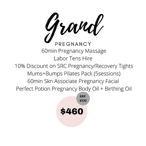 Grand Pregnancy Package