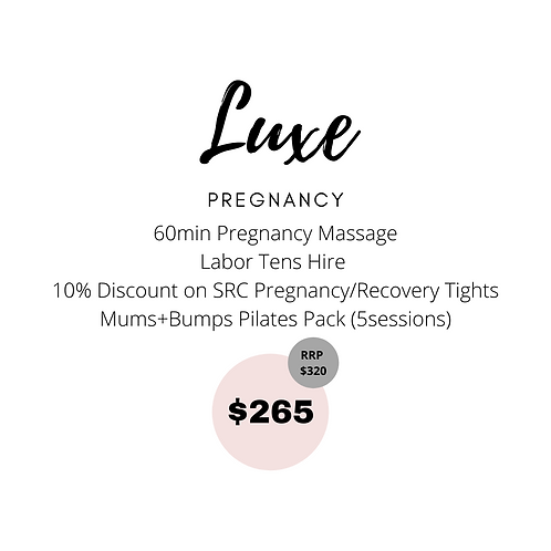 Luxe Pregnancy Package