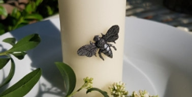 Bee Candle Pin