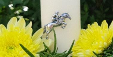 Horse & Jockey Pin