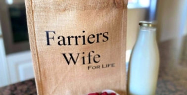 Farriers Wife For Life Bag