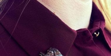 Labrador Brooch/Candle/Tie Pin