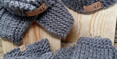 Grey Woollen Scarf