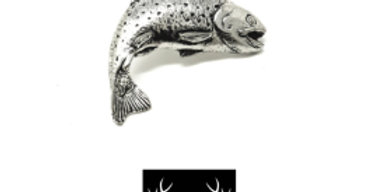Trout Brooch/Candle/Tie Pin