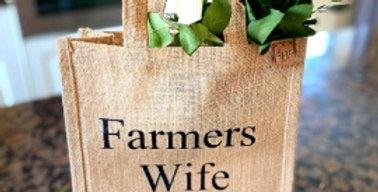 Farmers Wife For Life Bag