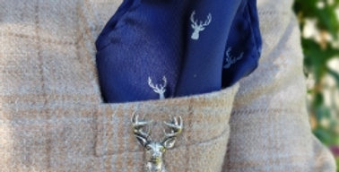 Stag Brooch/Candle/Tie Pin