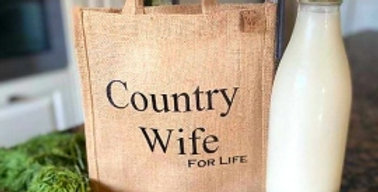 Country Wife For Life Bag