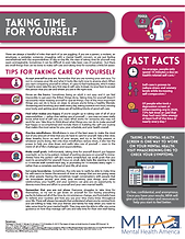 Fact Sheet - Taking Time for Yourself102