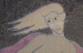 Laurent Mangepapier Tableau Art Ame femme