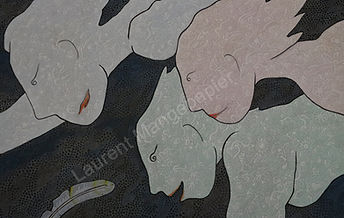 Laurent Mangepapier Tableau Art