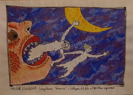 Laurent Mangepapier dessin art
