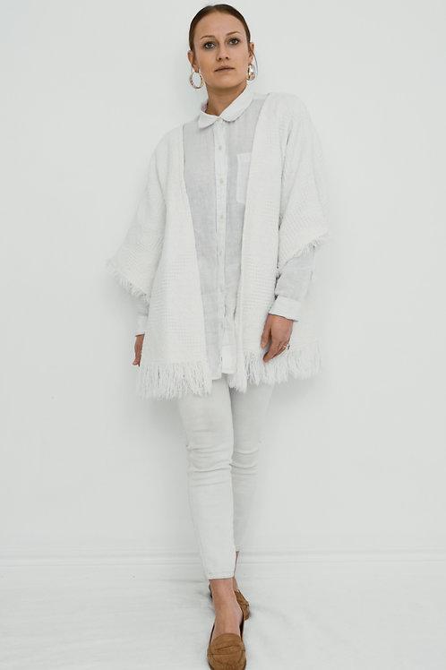 Fringed Kimono