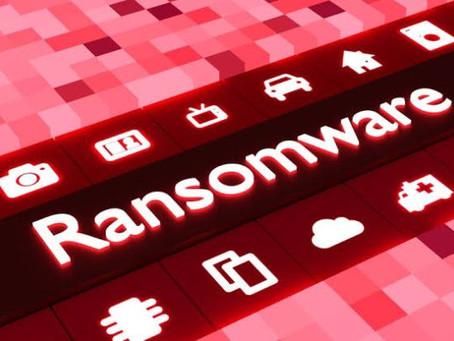 Ransomware é um software nocivo.