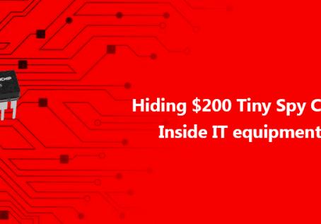 Hackers escondem minichips em equipamentos de TI
