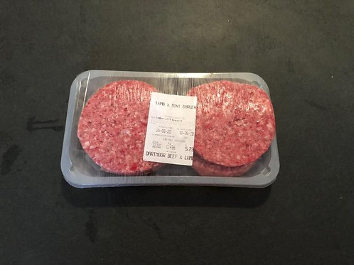 Lamb and Mint Burgers - packs of 4