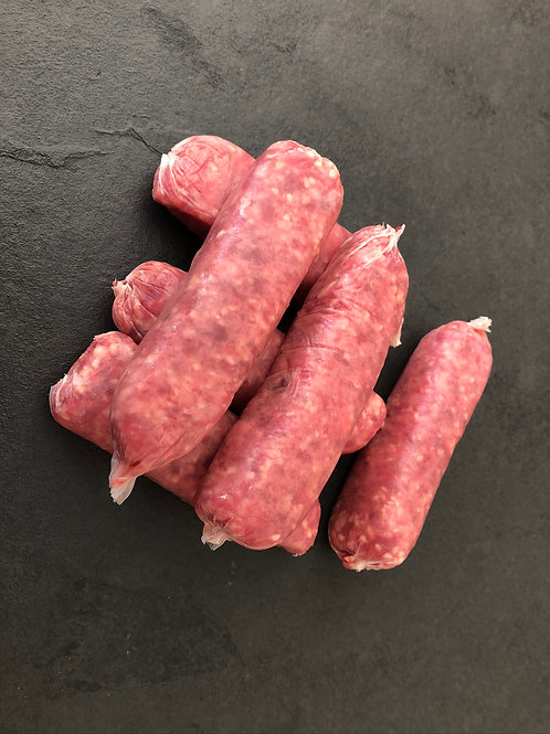 Beef Sausages - packs of 6