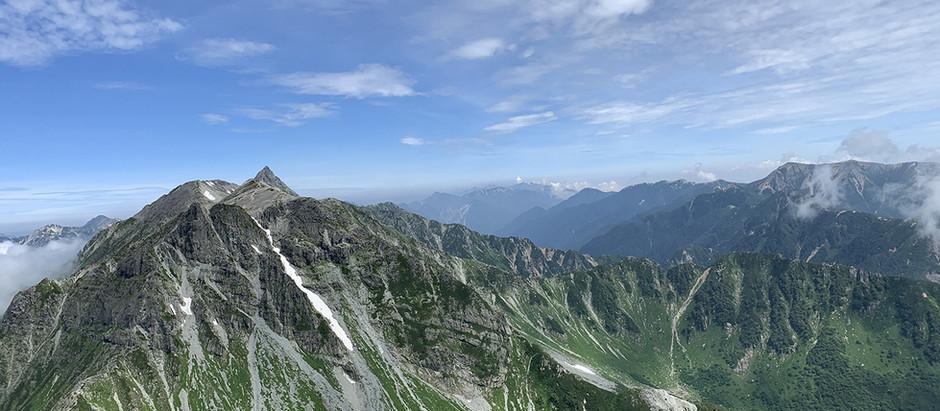 夏の楽しみ、山登りに行ってきました。