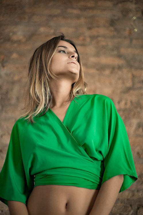 Camisa/Kimono Amarração Customizado