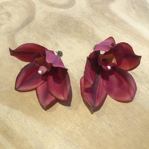 Brinco Orquídea - Flor de Laranjeiras