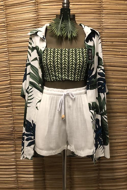 Camisa Estampada - Exotic