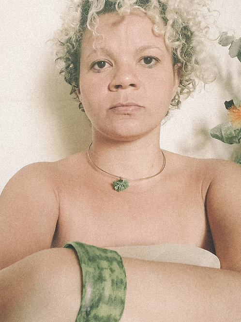Gargantilha Graminha - Flor de Laranjeiras