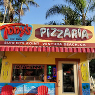 Tony's Pizzaria, CA