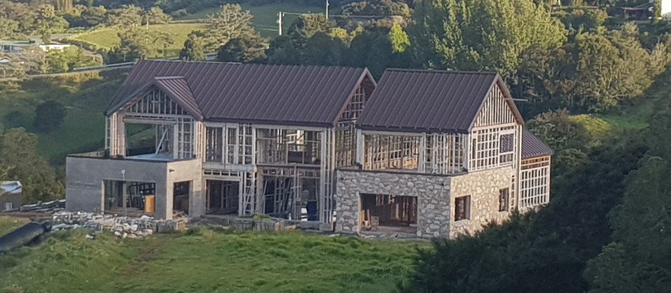 Work is now in full swing on one of our 2018 new builds in Okura.