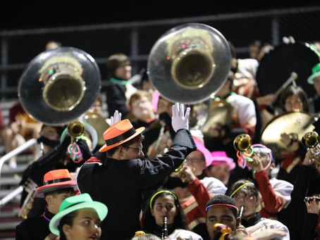 Images from Homecoming Friday Night