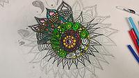 Youth Mandala Art Bronwyn Brony Marshall
