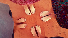 red dirt women feet brony marshall