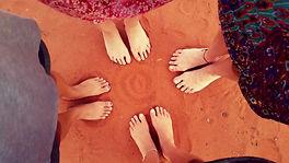red dirt women feet brony marshall