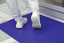 cleanroom sticky tacky floor mats