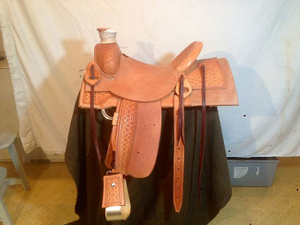 Half breed Buster Welch custom saddle