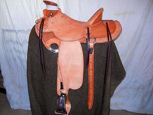 Half Breed custom saddle