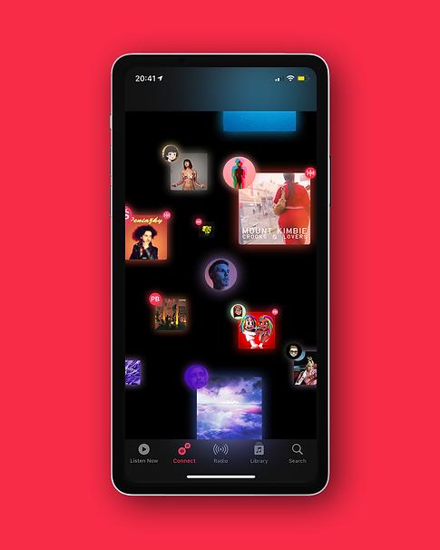 Juraj Kusy Design Designed by jk for Apple multitasking concept design Apple Music Connect iOS iPadOS macOS