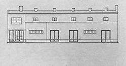 Kino Palace moderná architektúra Nitra Architekt Friedrich Weinwurm