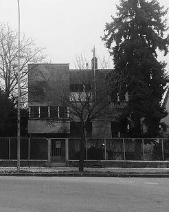 dvojdom rodiny Ehrenferdovcov Architekt Oskar Singer moderná architektúra Nitra