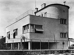 Dom Kollmannovcov kedysi Architekt Oskar Singer moderná architektúra Nitra