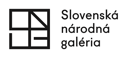SNG logo slovenská národná galérie Vladimír Dedeček