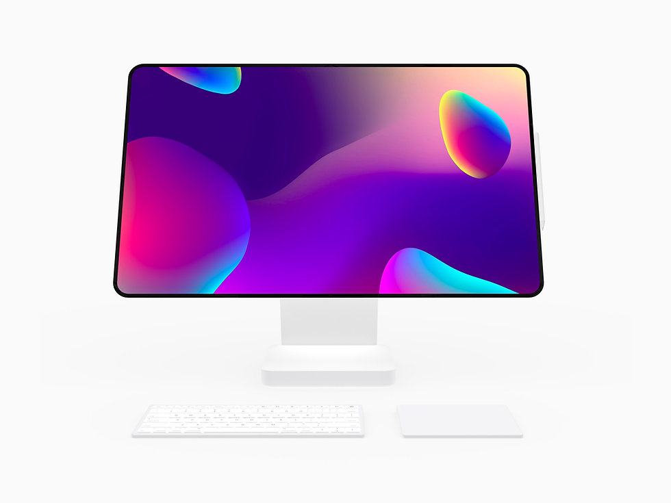 Apple iMac Pro Studio concept touchscreen Apple Pencil support mac adjustable display