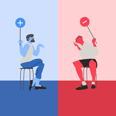 Juraj Kusy Facebook Profile jurajkusy illustration polarized society