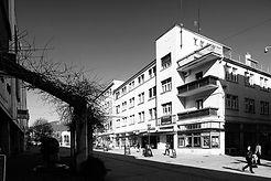 Vseobecna banka nitra architekt Ferdinand Silberstein moderná architektúra