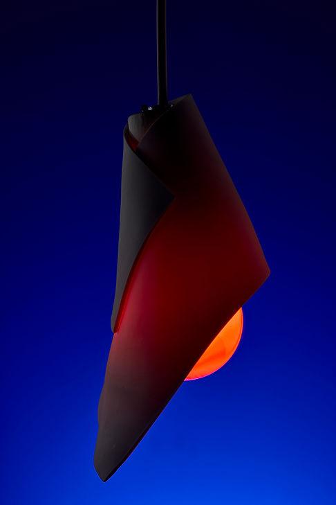 unlinear porcelain lightshade by juraj kusy / photo by jakub delibalta