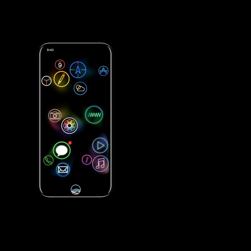 nextOS home screen
