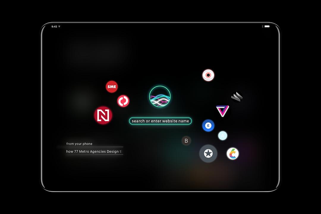 nextOS browser